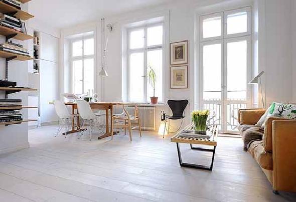 Minimalist Small Apartment Interior