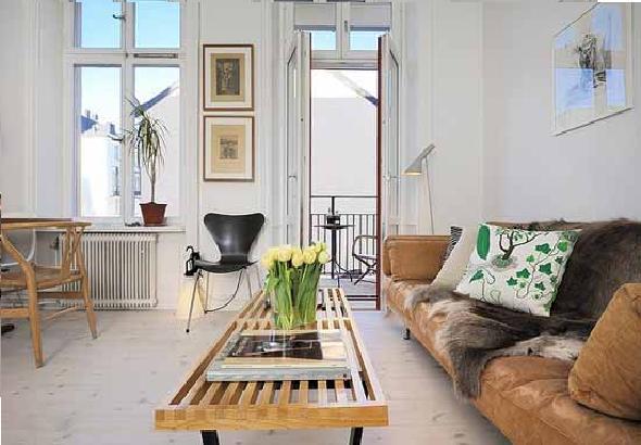 Minimalist Small Apartement Living Room